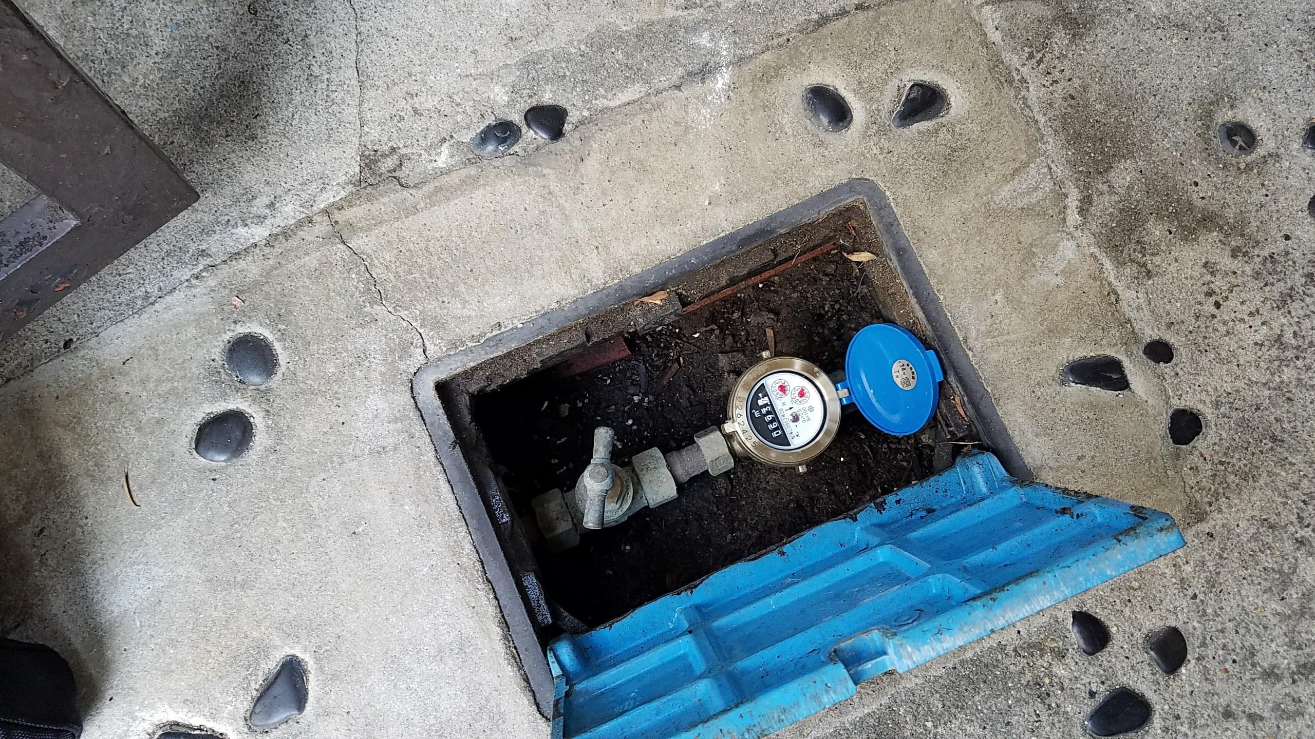 八尾市 K様邸給水管改修工事