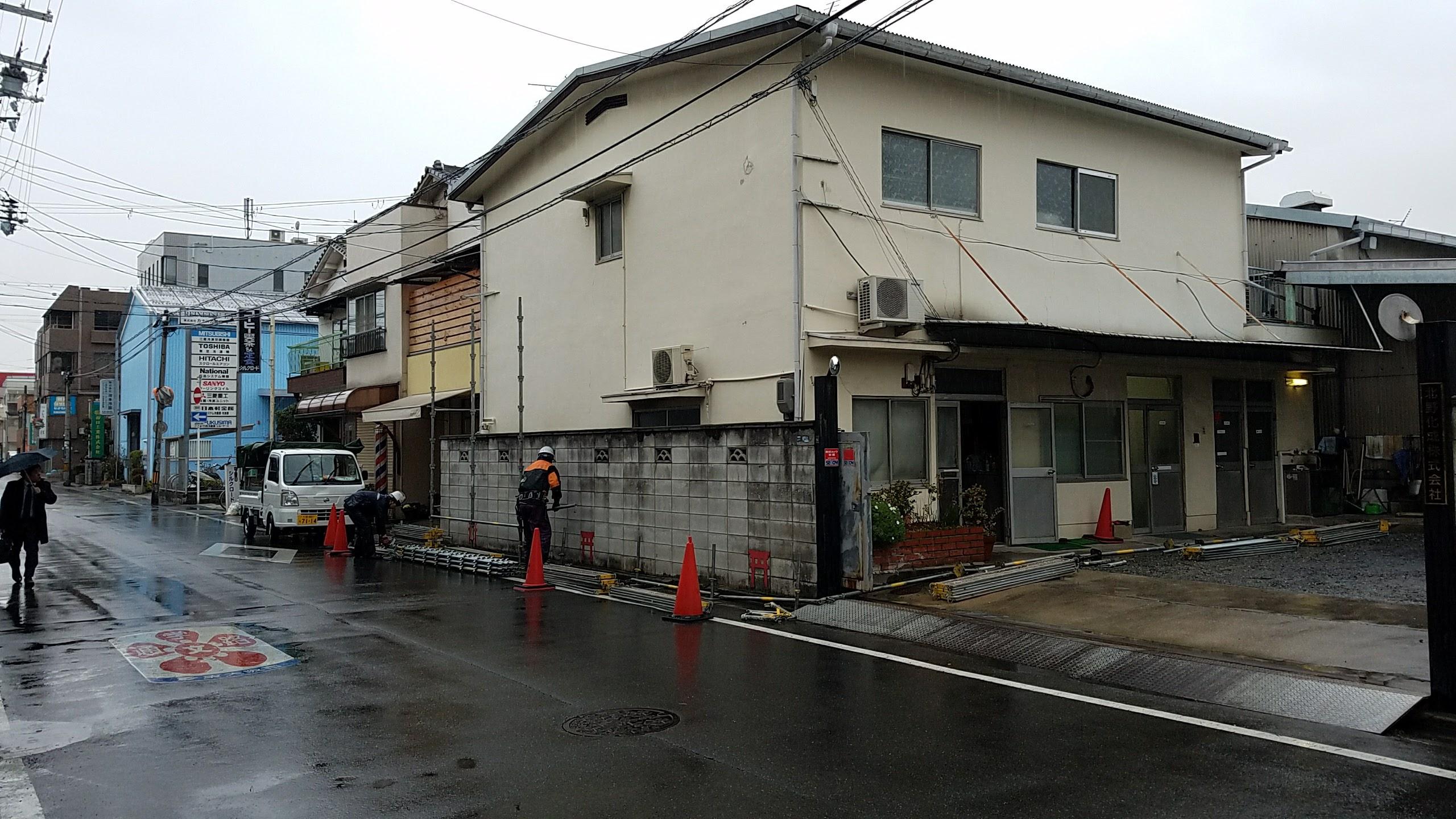 東大阪市 K社様 社屋改修工事