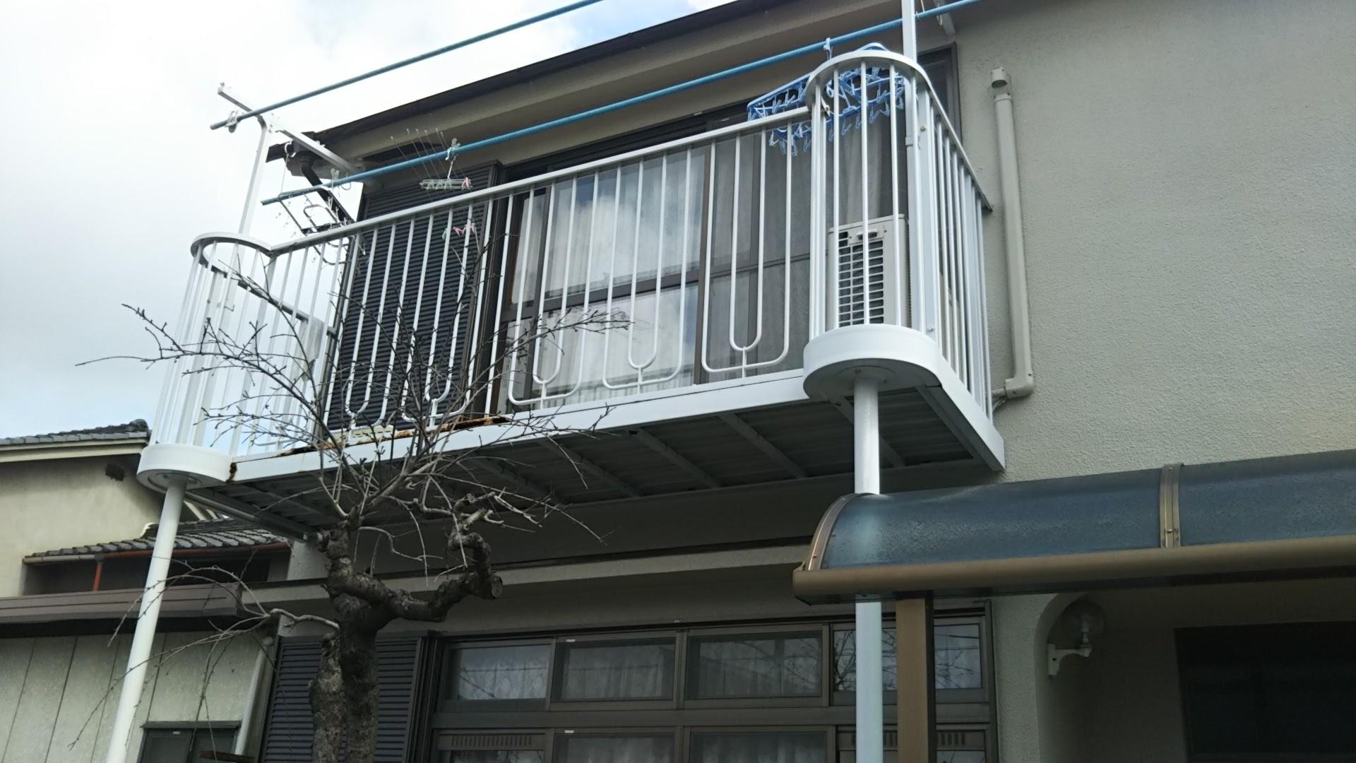 東大阪市 Y様邸ベランダ改修工事