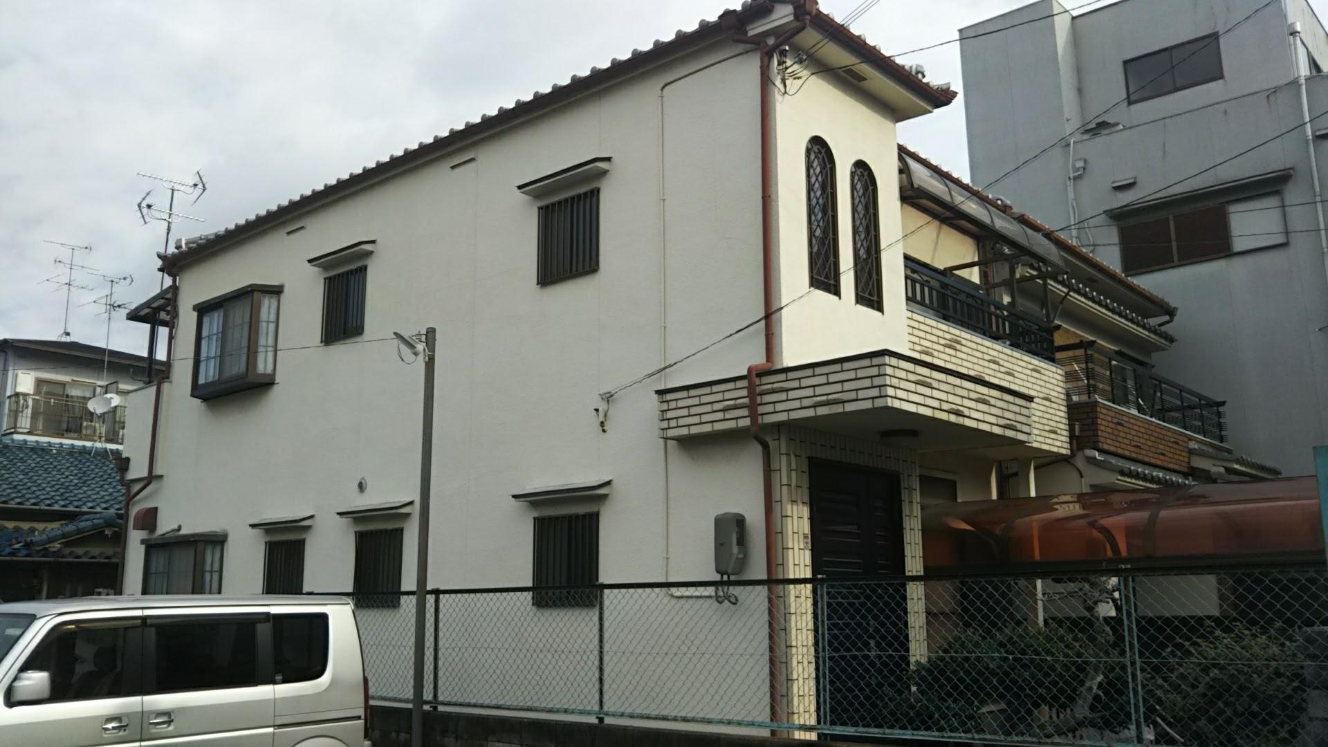 東大阪市 Y様邸 外壁リフレッシュ工事