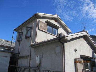 東大阪市H様邸 外壁塗装工事