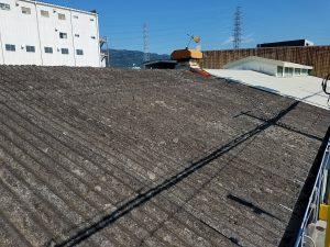 東大阪市 工場スレート屋根改修工事